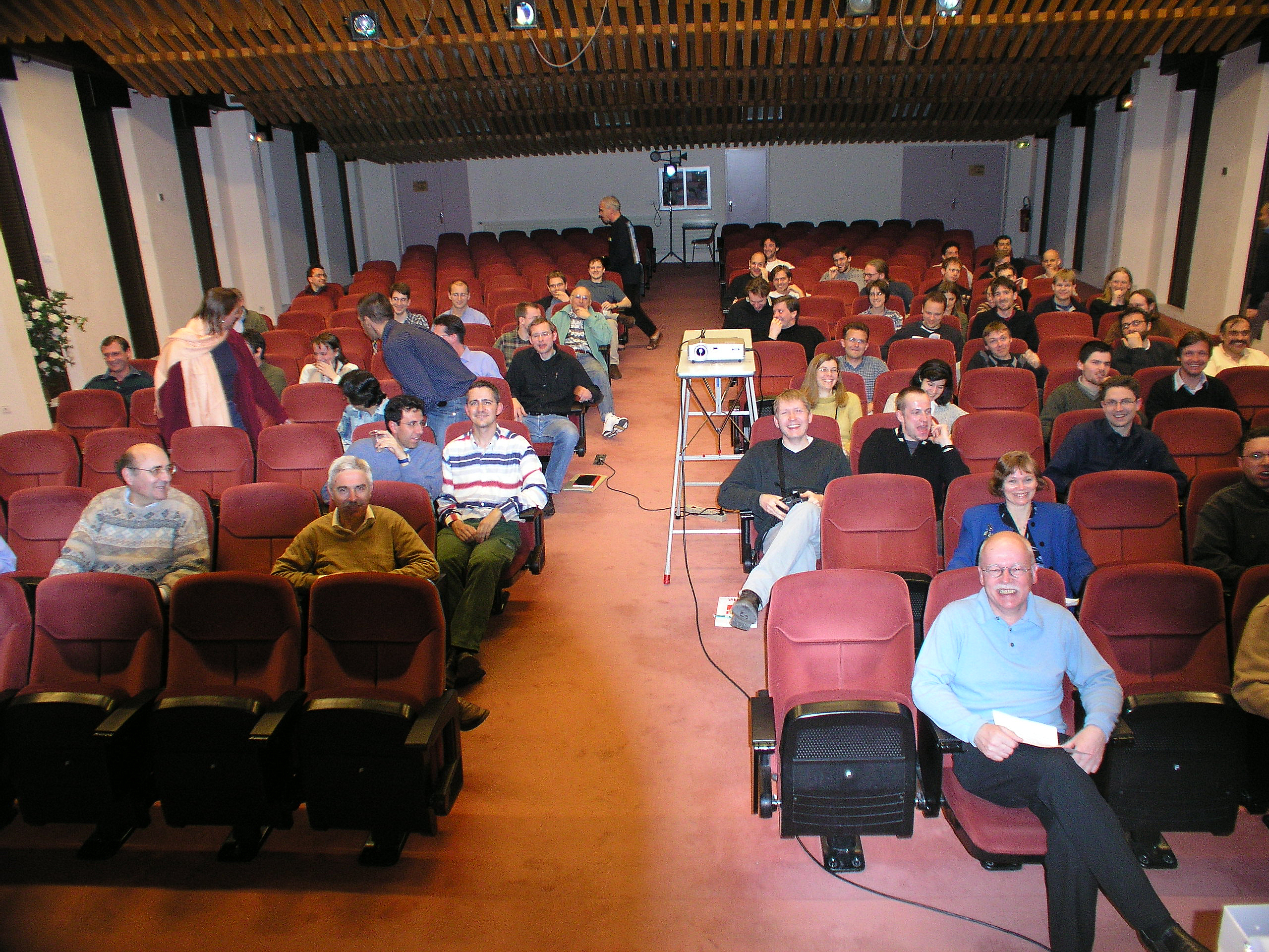 lecture room at the Aussois Combinatorial Optimization Workshop