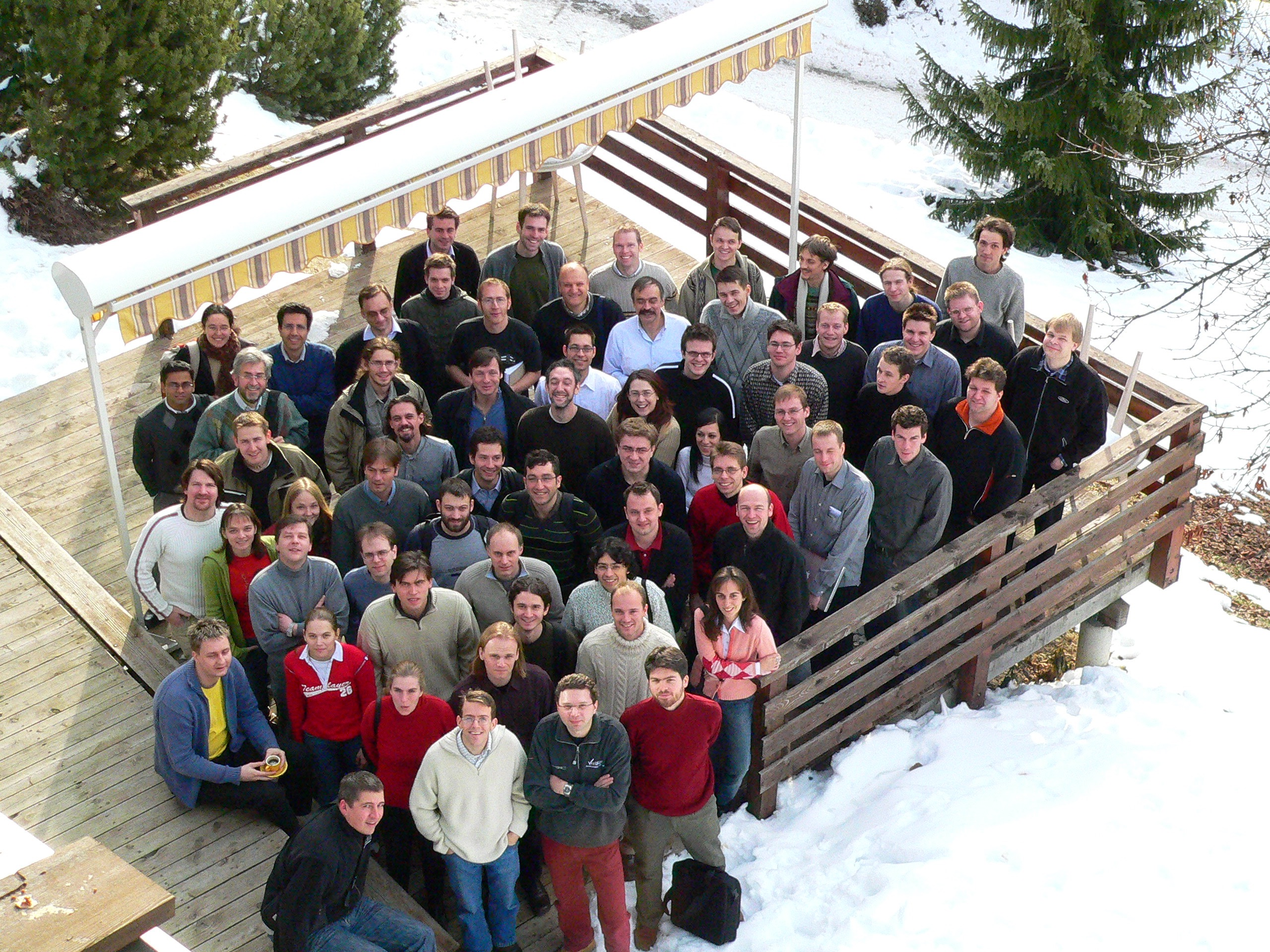 Conference Photo 2 at the Aussois Combinatorial Optimization Workshop