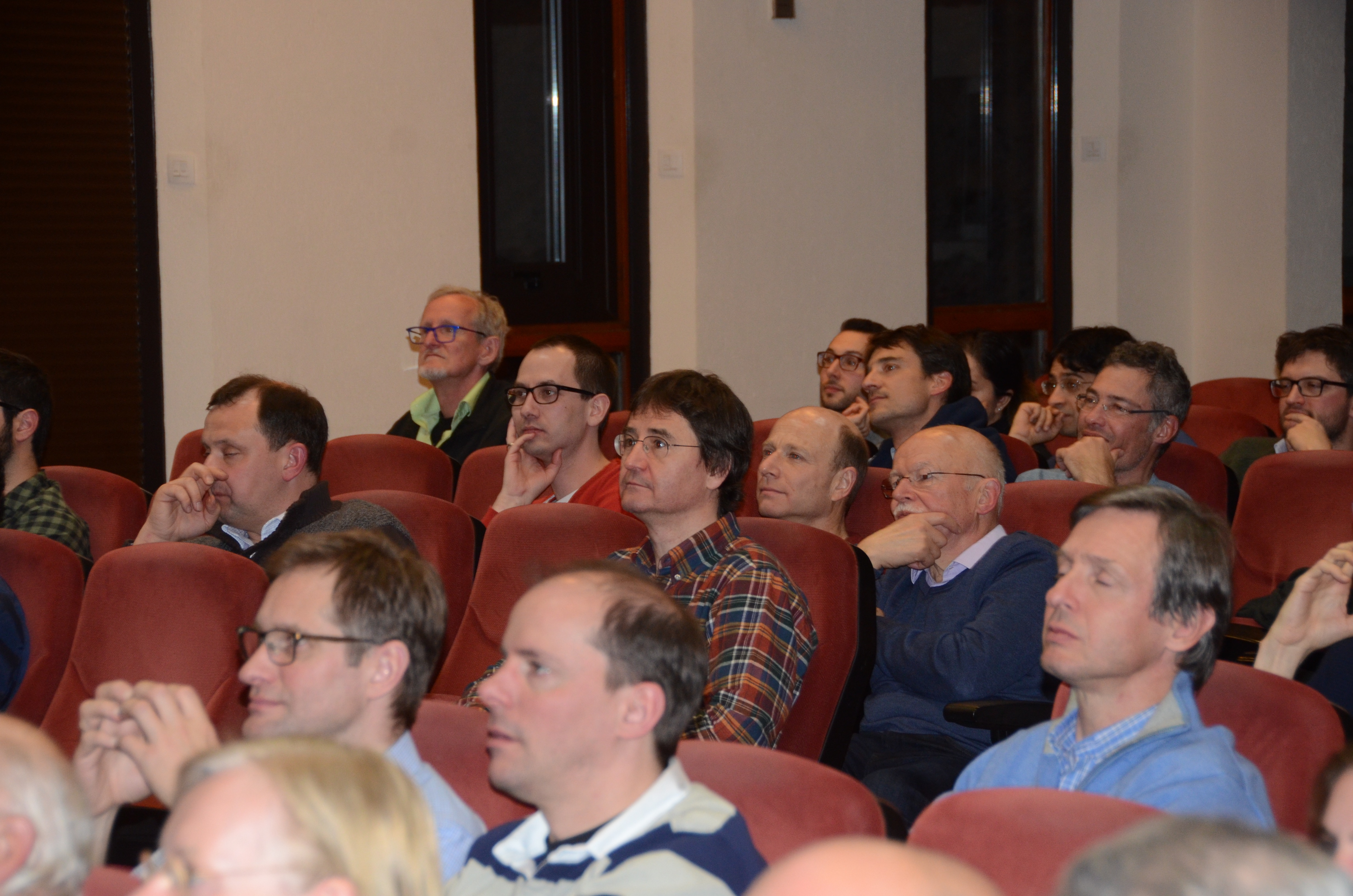 Audience 11 at the Aussois Combinatorial Optimization Workshop