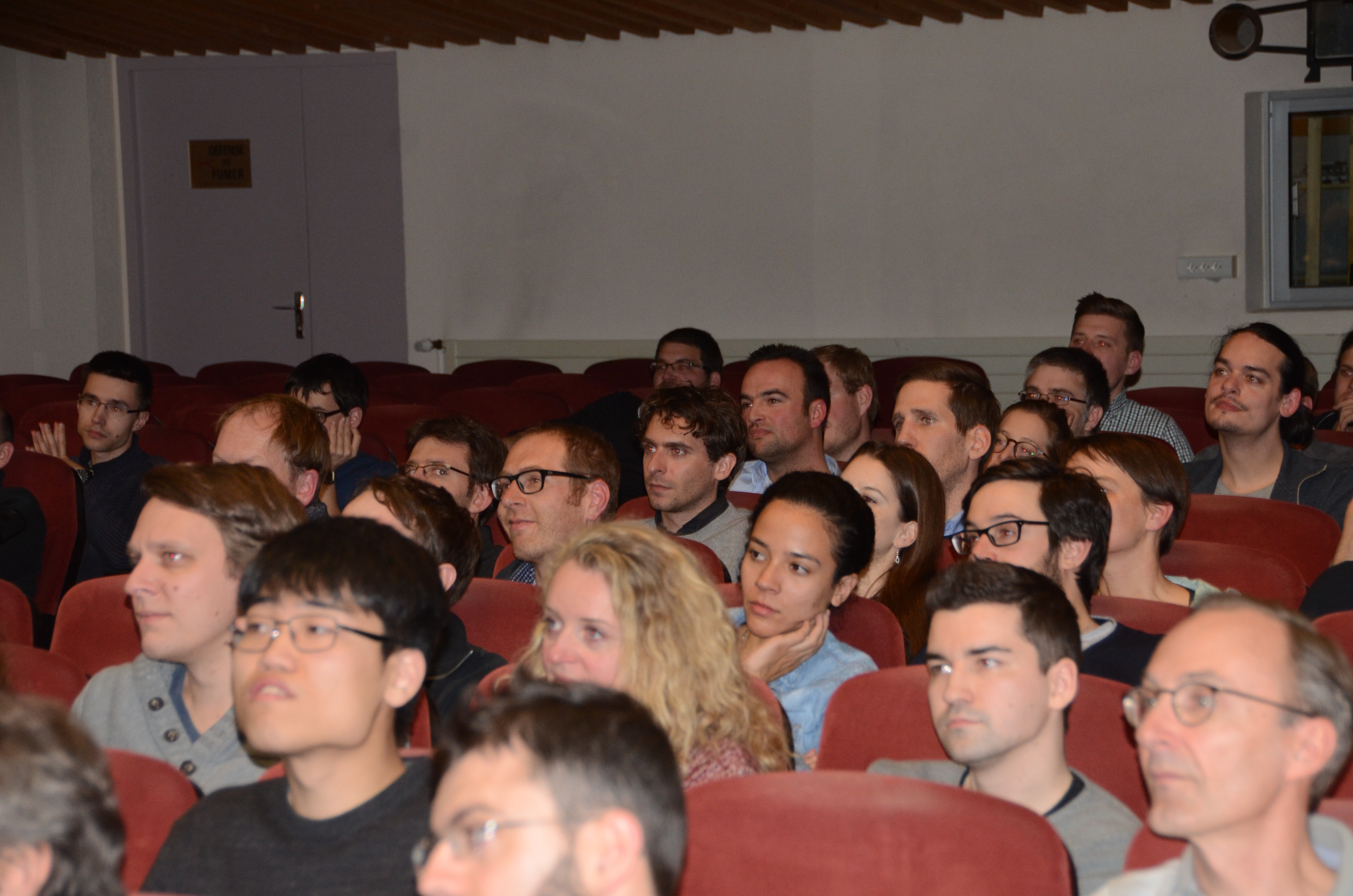 Audience 26 at the Aussois Combinatorial Optimization Workshop