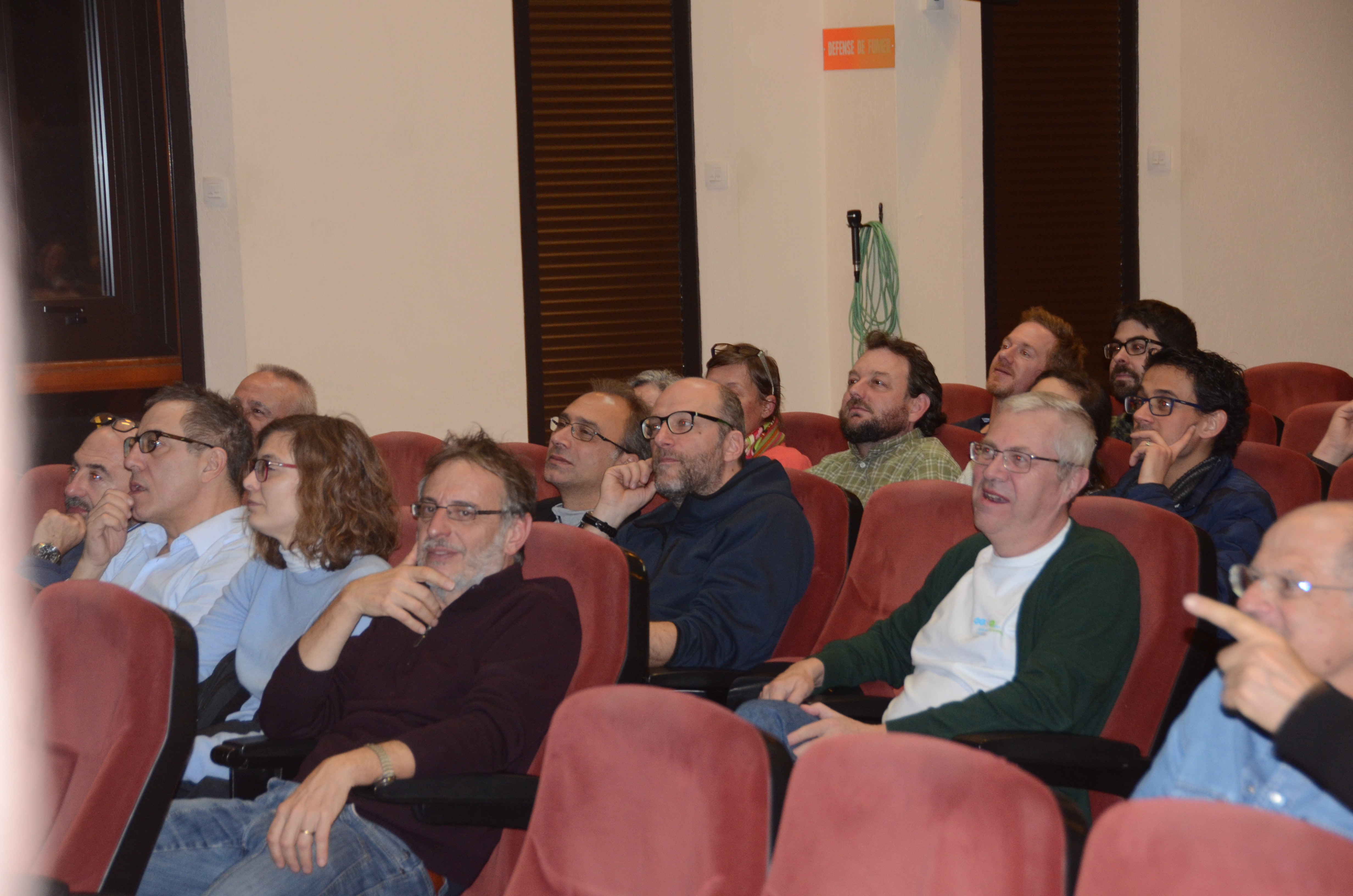 Audience 9 at the Aussois Combinatorial Optimization Workshop